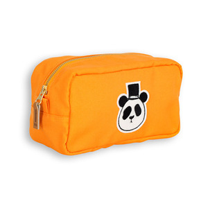 Panda Pencil Case (orange)