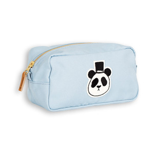 Panda Pencil Case (light blue)