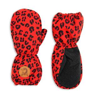 Alaska Leopard Glove (red)