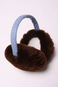 Kicokids 2-tone fur muffs (2colors)