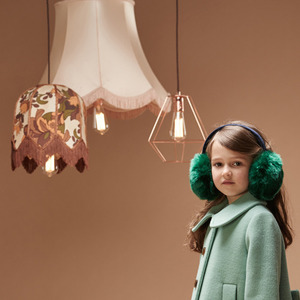 Pompom Ear Muffs (emerald)