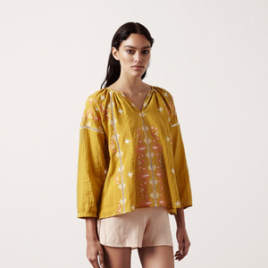 Blouse Cadix (mustard for mom)