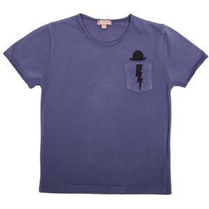 (2,3y)Tshirt #463c (blueberry)