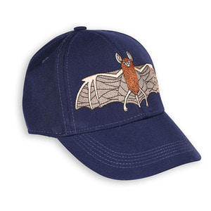 Bat Embrodery Cap
