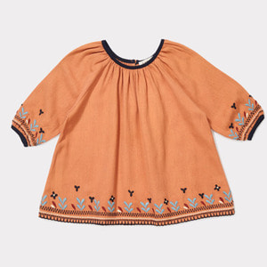 Lydford Baby Dress (persimmon)