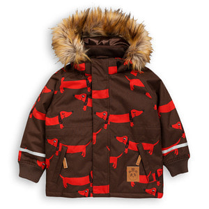 K2 Dog Parka (brown)