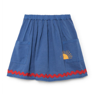 [8/9y]Pockets Skirt Sun #92
