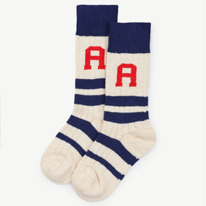 Snake Socks (navy blue)