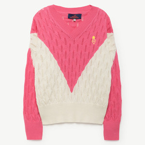 Toucan Sweater (fuchsia)