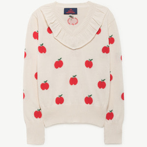 Horsefly Sweater (red apple)