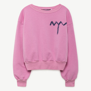 Bear Sweatshirt (fuchsia tree)