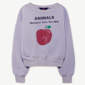 Bear Sweatshirt (lavand peach)