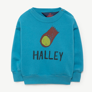 Bear Baby Sweatshirt (blue halley)