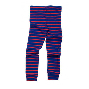 Mini rodini Stripe leggings (blue/red)