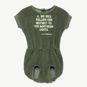 Koala Baby Suit (military green)