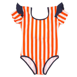 Stripes&frills Swimsuit #306