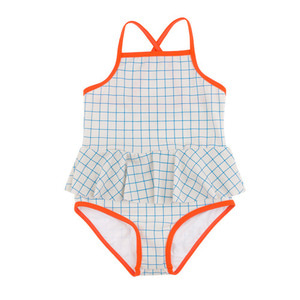 Grid Swimsuit #310