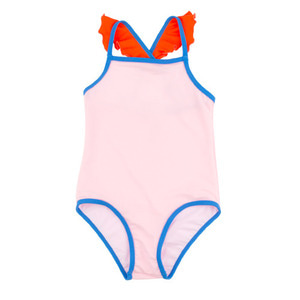 Color Block Swimsuit #312
