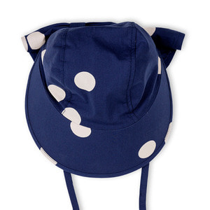 Dot Sun Cap (navy)