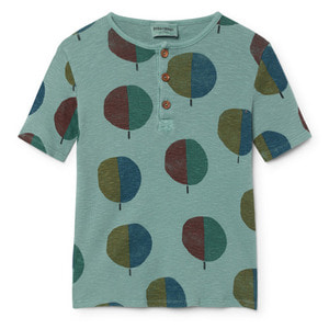 Buttons Tshirt Forest #24