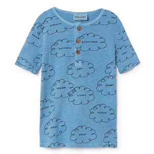 Buttons Tshirt Clouds #25