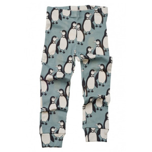 Mini rodini Penguin leggings (green)