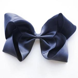Large Satin Clip (peacoat)