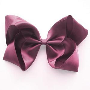 Large Satin Clip (victorian rose)