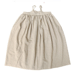 [2y] Dress #12 (beige check)