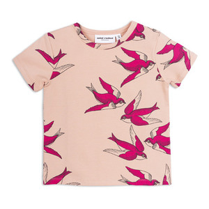 Swallows SS Tee (pink)