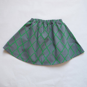 Bobo choses Green check skirt