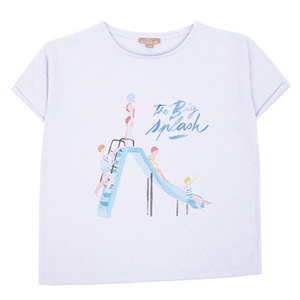 Tshirt #339 (ciel splash)