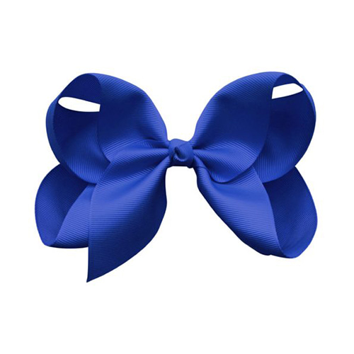 Jumbo Boutique Bow Cobalt