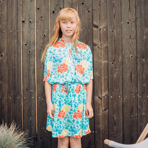 Flower Tunic Dress