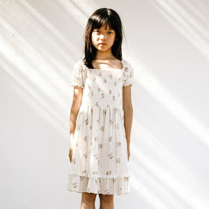 Tilda Smoked Dress (summer blossom)