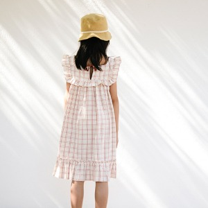Lina Dress (rustic check)
