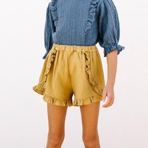 Belle Shorts (pistachio)