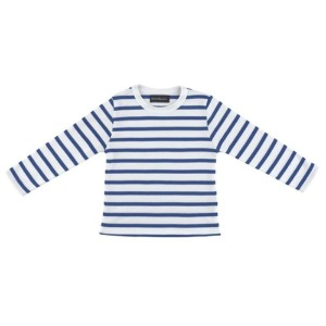 French Blue Stripeed Tshirt