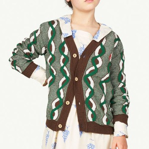 Braids Racoon Cardigan brown logo 21082_212_CE