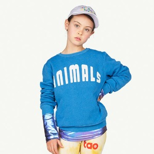 Bear Sweatshirt blue animal 21050_2326_FH